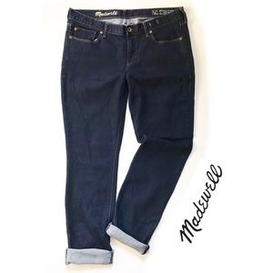 Madewell Rail Straight Dark Wash Jeans 32 x 34